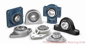 4.4375 in x 15.63 to 17.38 in x 10 in  Dodge P4BC407E Pillow Block Roller Bearing Units
