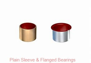Bunting Bearings, LLC AA030601 Plain Sleeve & Flanged Bearings