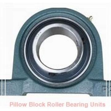100 mm x 314.4 to 356 mm x 120 mm  Dodge ISN 522-100MFR Pillow Block Roller Bearing Units