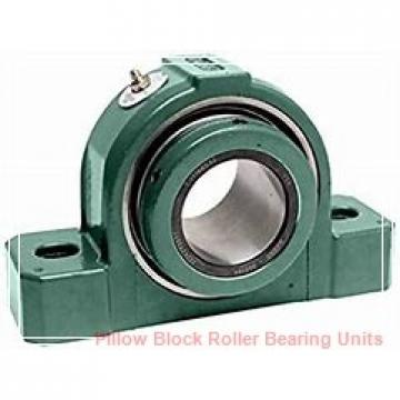 2.5000 in x 9.88 to 11.63 in x 5.06 in  Dodge P4BSD208 Pillow Block Roller Bearing Units