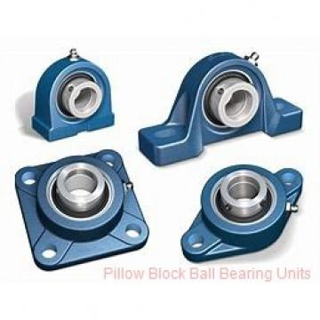 0.938 Inch | 23.825 Millimeter x 1.5 Inch | 38.1 Millimeter x 1.75 Inch | 44.45 Millimeter  Sealmaster SPD-15C Pillow Block Ball Bearing Units