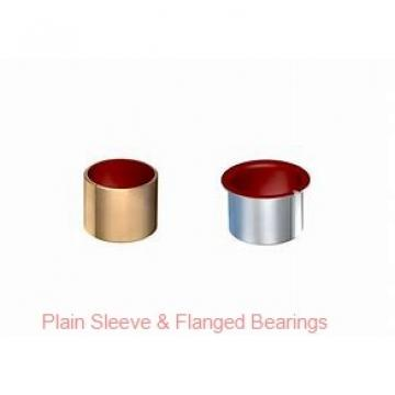 Bunting Bearings, LLC AA627-1 Plain Sleeve & Flanged Bearings