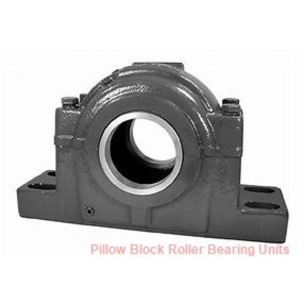 6.0000 in x 21.38 to 23.63 in x 12 in  Dodge P4BSD600 Pillow Block Roller Bearing Units #1 image