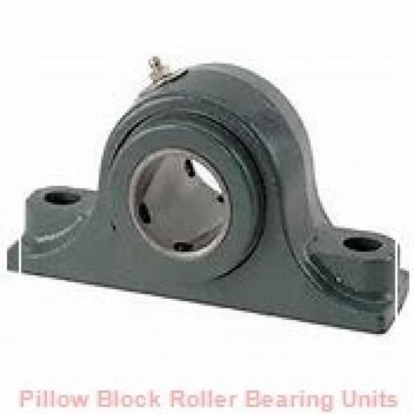 6.0000 in x 21.38 to 23.63 in x 12 in  Dodge P4BSD600E Pillow Block Roller Bearing Units #1 image