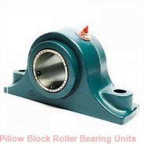 2.2500 in x 9.27 to 10-1/4 in x 4 in  Dodge P2BDI204RE Pillow Block Roller Bearing Units #1 image