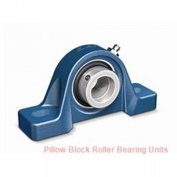 6.0000 in x 21.38 to 23.63 in x 12 in  Dodge P4BSD600 Pillow Block Roller Bearing Units #2 image
